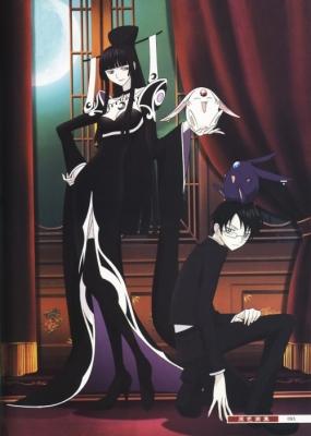 Триплексоголик (фильм) / Gekijouban xxxHOLiC - Manatsu no Yo no Yume [2005]