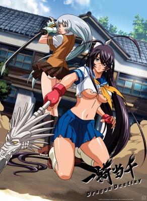 Школьные войны (второй сезон) / Ikkitousen: Dragon Destiny