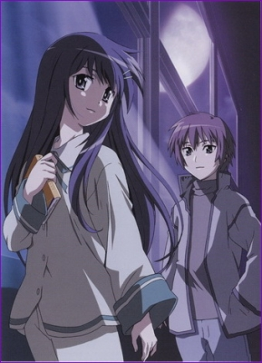 Глядя на полумесяц / Hanbun no Tsuki ga Noboru Sora